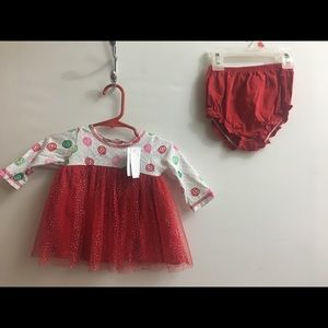 Goodlad Infant Girls Dress and Bloomers 9 mo NWT